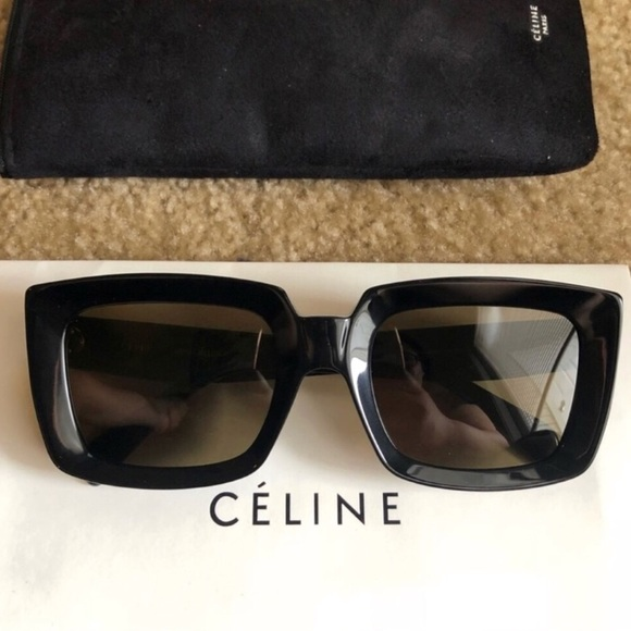 7a16a37e5d03 Celine Accessories | Square Frame Sunglasses | Poshmark